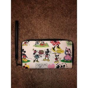Disney Mickey & Minnie Wristlet - NWOT